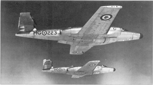 No. 428 Squadron, RCAF CF-100 Canuck all weather interceptors